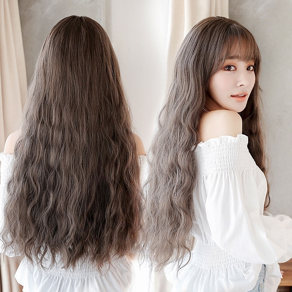 擬真韓系假髮 耐熱 長捲髮 超美玉米鬚 泡麵捲髮 洋娃娃 假髮【MA491】☆雙兒網☆