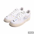 NIKE 女/大童 休閒鞋 AIR FORCE 1 LV8 3 (GS) 經典 潑墨 簡約-DJ2598100