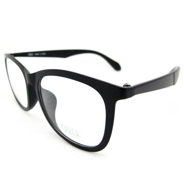 韓國復古大框眼鏡,文青經典款鏡架,時尚有型,素色好搭,男女款-霧黑