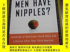 二手書博民逛書店Why罕見Do Men Have Nipples? Hundre