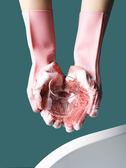 清潔手套 矽膠洗碗手套廚房清潔手套加厚防水不傷手洗衣服家務手套