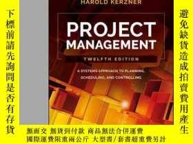 二手書博民逛書店Project罕見Management: A Systems Approach to Planning, Sche