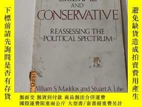 二手書博民逛書店LIBERAL罕見AND CONSERVATIVE:自由派和保守派Y212829