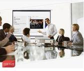 幕布 4K抗光50寸高清家用投影儀幕布戶外輕便移動辦公桌面幕布折疊玻璃 免運免運 艾維朵