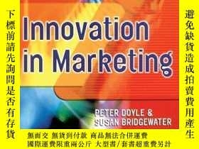 二手書博民逛書店Innovation罕見In Marketing (cim Professional Development Se