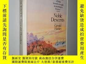 二手書博民逛書店Noble罕見Descents by Gerald Hanley