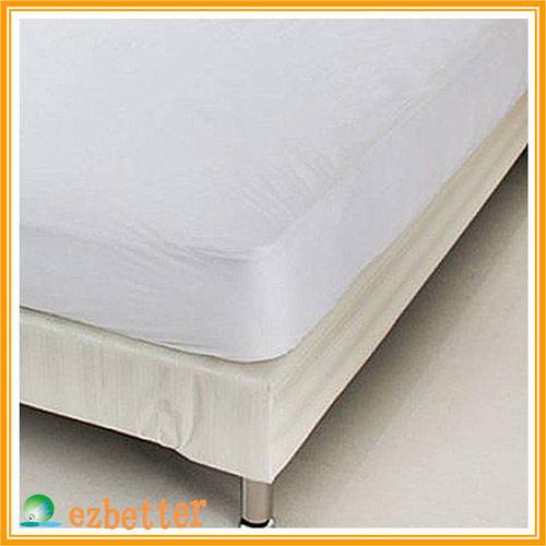 【奇買親子購物網】伊莉貝特防蹣(螨)寢具純棉-雙人床墊套 156*190*20cm ( 5*6.2尺 )