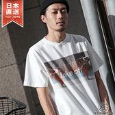 聯名款印刷圓領口袋 短袖T恤  ZIP x AOZORA