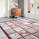 【范登伯格進口地毯】芭比人造絲質地毯-圖藤紅140x190cm