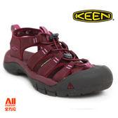 【KEEN】女款 NEWPORT ECO 戶外休閒涼鞋-酒紅(1018819)全方位跑步概念館
