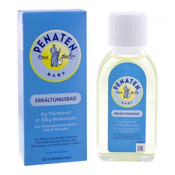 德國 Penaten 牧羊人 嬰兒舒緩泡澡精油 125ml 【網路人氣商品 成人也可使用】