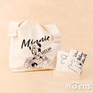 日貨迪士尼March Bag棉麻購物袋- Norns 日本進口 Eco bag 小熊維尼 奇奇蒂蒂 環保袋 背心袋