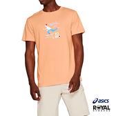 Asics 亮橘色 棉質 東京奧運 短袖 T恤 男女款 NO.H2878【新竹皇家 2191A254-802】