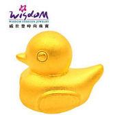 威世登 3D硬金串珠黃金可愛小鴨 金重約0.20~0.23錢 情人節 生日 紀念日 GV00085-1 - #BAXX-EHX