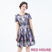 【RED HOUSE 蕾赫斯】暗花花苞洋裝(共2色)