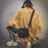 新款斜挎時尚帆布質感百搭學生蹦迪 日系小黑包