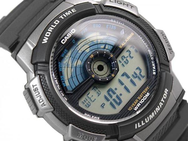 【CASIO宏崑時計】CASIO卡西歐復古電子錶 AE-1100W-1A 生活防水  台灣卡西歐保固一年