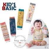 護膝 韓版 空調保暖 防摔 襪套 卡通 純棉 鬆口 長統襪 KID'S BASIC BW