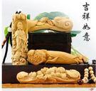 黃楊木雕 家居工藝品擺件 汽車挂件 如意...