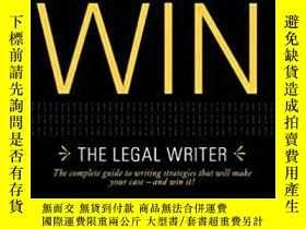 二手書博民逛書店寫作必勝:法律作家罕見Writing to Win: The L