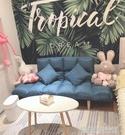 懶人沙發臥室小沙發小戶型雙人榻榻米網紅沙發簡易折疊單人沙發床