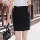 口袋單扣OL迷你短裙窄裙[20S66-PF]小三衣藏