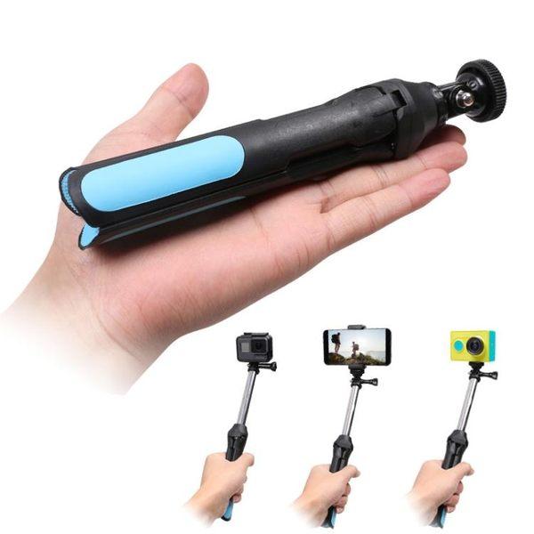相機手機自拍桿三腳架配件For Gopro6/5小蟻4K遙控器帶自拍桿 魔法鞋櫃