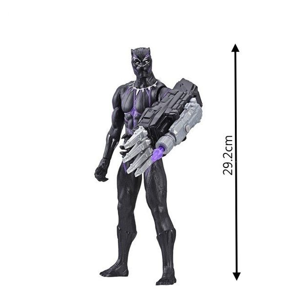 MARVAL漫威超級英雄 復仇者聯盟4 終局之戰 12吋泰坦英雄人物組 黑豹 POWER EX電子武裝TOYeGO 玩具e哥