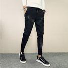 經典流行特色紋路造型百搭休閒長褲