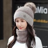 帽子 帽子女冬天加絨月子帽加厚騎行防寒秋冬季百搭保暖女士針織毛線帽 618購物節