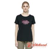 【wildland 荒野】女 椰炭紗防蚊抗菌抗UV上衣『夜空灰』0A81627 戶外 休閒 運動 露營 登山 騎車