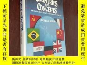 二手書博民逛書店Countries罕見and Concepts(國家和概念)Y12880 Michael G. Roskin