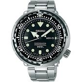 SEIKO 精工 PROSPEX 潛水錶50周年紀念錶-銀/48mm 7C46-0AG0C(SBBN031J)