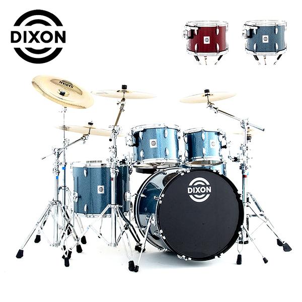 DIXON 嚴選Sparkle懸吊式爵士鼓組-金蔥限量款-含支架/踏板/鼓椅/鼓棒(不含銅拔)
