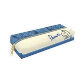 查理布朗款【日本進口】史努比 Snoopy 帆布 雙層 筆袋 鉛筆盒 PEANUTS - 848982