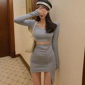 棉休閒不規則短裙套裝   ♥ onetwo♥