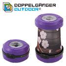 日本 DOPPELGANGER 燈籠式兩用LED燈 紫/櫻花 L1-215
