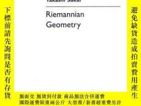 二手書博民逛書店Riemannian罕見Geometry (translations Of Mathematical Monogr