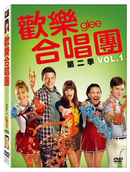歡樂合唱團 第二季Vol. 1 上套 DVD 歐美影集 (購潮8)