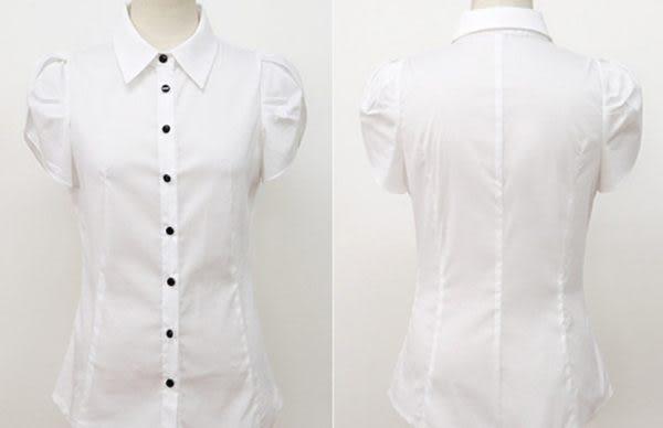 OL 短袖襯衫