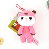 Jetoy,甜蜜貓 Q版 娃娃(12cm)_Pink bear