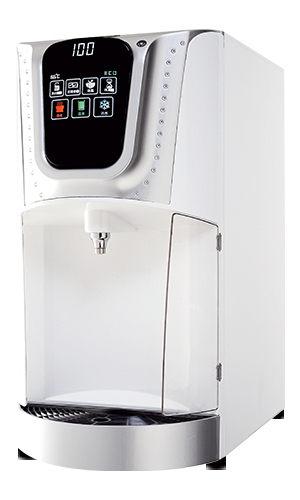 龍泉LC-7571冰溫熱節能桌上型飲水機施華洛世奇水鑽系列[1AB雪晶白配粉鑽/2AB晶燦銀配白鑽]