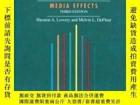 二手書博民逛書店Milestones罕見In Mass Communication Research (3rd Edition)-