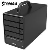 STARDOM SR4-TB2-B 支援3.5吋硬碟與2.5吋固態硬碟 Thunderbolt2 4bay 磁碟陣列硬碟外接盒