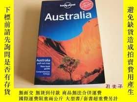 二手書博民逛書店lonely罕見plonet CENTRAL AUSTRALIA 英文原版—孤獨星球旅遊指南。Y178606