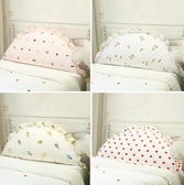 全棉兒童床靠墊女孩公主房大靠背可愛床頭靠枕榻榻米軟包可拆洗