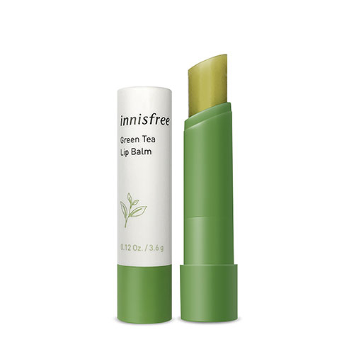 韓國 Innisfree 綠茶保濕護唇膏 3.6g 【新高橋藥局】