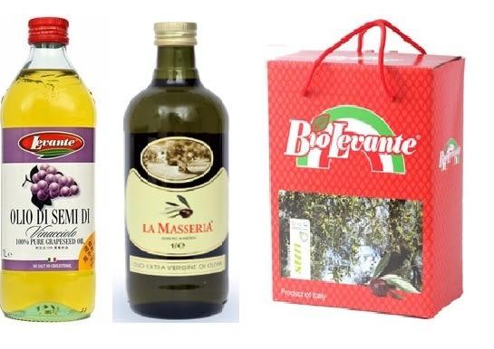 二入禮盒組 (初榨冷壓橄欖油,葡萄籽油)