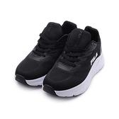FILA 厚底休閒跑鞋 黑白 5-J335V-041 女鞋