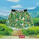 Levis X Pokemon 寶可夢限量聯名 四角褲Boxer / 滿版寶可夢花園印花